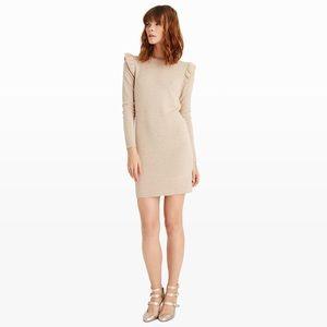 Club Monaco Evern wool ruffle sweater dress